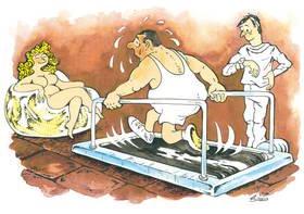 per bruciare i grassi devi sudare